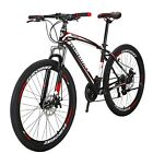 """Eurobike X1 Mountain Bike 27.5"""" Shimano 21 Speed Bicycle Front Suspension MTB"""