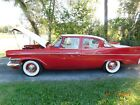 1958 Studebaker Commander RED/WHITE TUDEBAKER COMMANDER