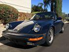 1986 Porsche 911  1986 Porsche 911 Carrera COUPE Rare Blue Color