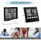 Hygrometer Indoor LCD Screen Digital Alarm Clock Thermometer Weather Forecast