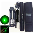 10Miles Military Green 5mw 532nm Laser Pointer Pen Light Visible Beam Burning