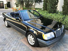 1994 Mercedes-Benz E-Class E320 Mercedes Benz Cabriolet - ONE OWNER - TRIPLE BLACK
