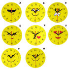 Creative Style Non-Ticking Silent Fashion Cute Wall Clock For Home Kitchen Nice