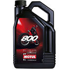 MOTUL 800 2T Factory Line Off-Road Racing 100% Synthetic Oil - 4 Liter - 104039