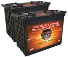 QTY 2 VMAX XTR12-155 BOAT POWER BACKUP 310AH marine deep cycle 12V AGM battery