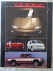 Dodge Cars & Trucks range brochure 1993 USA market