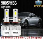 9005 LED Headlight Bulbs Kit for Chevrolet Silverado 2500 HD 2001-2013 High Beam