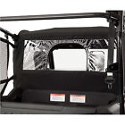 Honda Fabric Mid/Rear Panel Black Fits: 2014 HONDA Pioneer 700 & 700-4