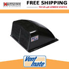 "VentMate Roof Vent Cover - Aerodynamic - Increased Air Flow - 14""x14"" Black"