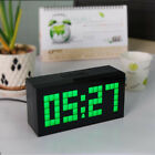 Digital Alarm LED Clock snooze Light Time Calendar Thermometer