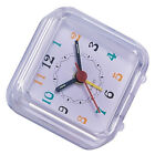 Mini Travel Alarm Clock Portable Table Desk Snooze Clock with Night Light 06