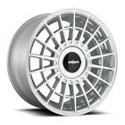 "20"" x8.5 Rotiform LAS-R R143 Silver 5x112/5x4.5 35 ET R143208507+35 Single Rim"