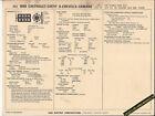 1968 CHEVY II/CHEVELLE/CAMARO V8 327 / 275 hp 4bbl Car SUN ELECTRONIC SPEC SHEET