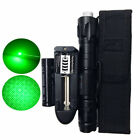 5mw Green Laser Pointer Lazer Pen Lamp Visible Beam Burn +18650 Battery Charger