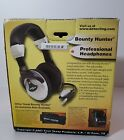 Bounty Hunter Light Weight Stereo Sound Professional Metal Detector Headphones