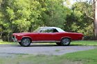 1967 Pontiac GTO  Convertible - Frame Off Restoration - Original Regimental Red - Parchment
