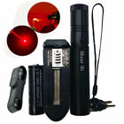 Military 650nm Lazer Pen Laser Pointer Beam Light Zoom + 18650 Battery +Charger