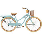 """Huffy 26"""" Womens' Nel Lusso Cruiser Bike with Perfect Fit Frame, Blue"""