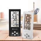 Digoo Wireless Digital Transparent Screen Hygrometer Thermometer Sensor Alarm