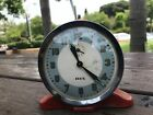 Vintage Authentic I.D.F Israeli army Alarm clock from 1950's singed collectable!