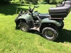 2002 suzuki eiger 400 4x4 LT-A400FK2 with plow and winch