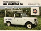 1963 International Harvester Scout  1963 International Scout