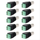 10PCS BNC Female To AV Screw Terminal Video Balun Block Connector For CCTV/DVR