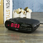 Red LED Display Digital AM FM Wake Up Radio Alarm Clock Buzzer Snooze Function