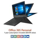 """11.6"""""""" 2 in 1 Touchscreen Laptop with Windows 10 Office 365 Personal 1TB Sale"""