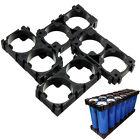 10PCS 18350/18500/18650  Battery 1X2 Cell Spacer Radiating Shell Holder Bracket&