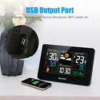 Wireless LCD Color Weather Station Hygrometer Thermometer Clock Humidity Alarm