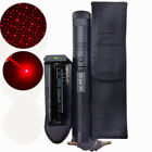 Military Red Laser Pointers 5mw 650nm Lazer Pen Visible Beam Zoom 18650 Holster