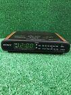 Sony Dream Machine Clock Radio with Dual Alarms ICF-C430 Wood Grain 1993 Vintage