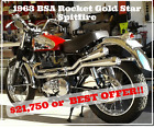1963 BSA Rocket Gold Star  1963 BSA Rocket Gold Star Spitfire/Gold Star Spitfire
