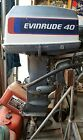 Outboard Lot:1976 Evinrude 40 HP Longshaft & 1965 33 HP Shortshaft FREE SHIPPING