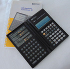 HP 19B II Business Consultant II Financial Calculator and Manual SN 1D84101390