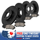 Front And Rear Brake Rotors & Ceramic Pads For ACCORD COUPE SEDAN LX-S LX LX-P