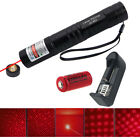 5mw Laser Pointer Laser Pen Light Torch Visible Beam with 16340 Battery Charger