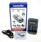 DigiPower TC-U450 Universal Camera/Camcorder Battery Charger Gray USB 5v/1000mA
