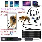 HD1200P Waterproof WIFI Inspection Mini CamBorescope Snake Video Cam F150 LOT DD