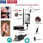 USB Ear Cleaning Endoscope Visual Earpick With Mini Camera Ear Cleaning Tool DD