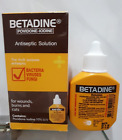 3×15cc Betadine Povidone Iodine Bacteria Viruses Fungi For Wounds,Burns And Cut.