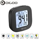 Digoo Digital LCD Thermometer Clock with Snooze Temperature Backlit Calendar