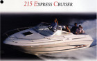 Sea Ray 215 Express Cruiser (NEW ENGINE!)