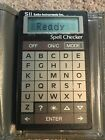 Seiko Instruments Credit Card Size Spell Checker
