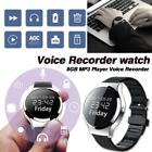 Digital Voice Recorder Spy Watch Bluetooth 8GB MP3 Player Audio Sound Recording
