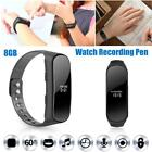 8GB Smart Watch Bracelet Wristband Voice Recorder Pen HD Noise Reduction