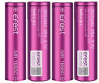 4 x purple EFEST IMR 18650 35A RECHARGEABLE Li-MN Battery 2500mAh w/cases