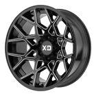 20x10 Black XD831 XD831BM 8x170 -24 Nitto Ridge Grappler 35X13.50R20 Rims Tires