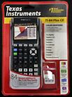 TEXAS INSTRUMENTS TI-84 PLUS CE BLACK GRAPHING CALCULATOR Sealed New